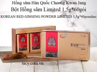 Korean Red Ginseng Powder Limited
