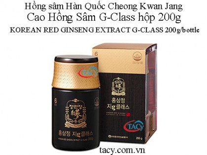 Cao Hồng Sâm Extract G-Class 200g