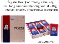 Honeyed Korean Red Ginseng Slices 240g