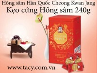 Korean Red Ginseng Renesse Candy 240g