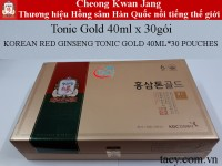 Korean Red Ginseng Tonic Gold 30Pouches