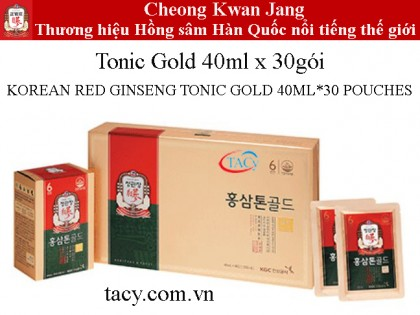 Tonic Gold 30túi*40ml Cheong Kwan Jang