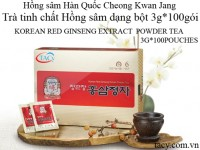 Korean Red Ginseng Extract Powder Tea 100bags