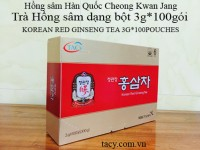 Korean Red Ginseng Powder Tea 100bags