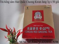 Korean Red Ginseng Powder Tea 50bags