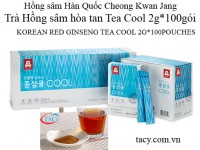 Tea Cool 100pouches 2g