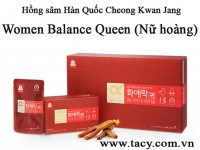 Korean Red Ginseng Women Balance Queen